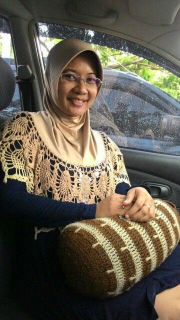 Hijab Rajut Syafira