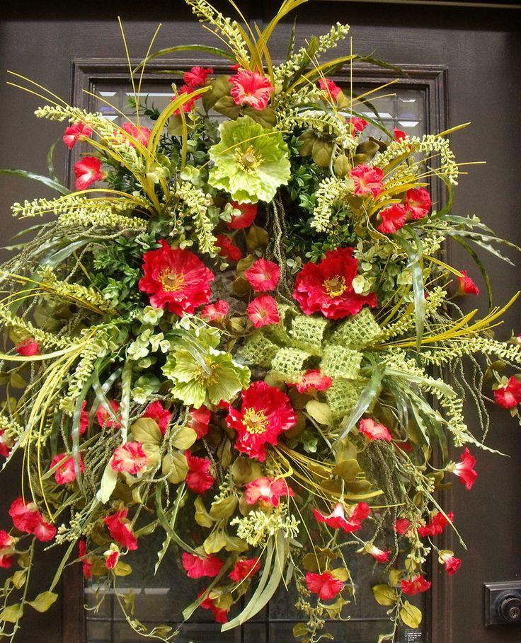 4a581b57cd22561a710c5b3aca3c4c19  summer door wreaths wreaths for door