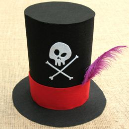 how to make a top hat for children