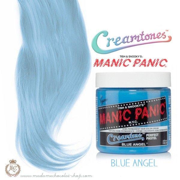 Manic Panic - Blue Angel - Creamtones - Madame Chocolat