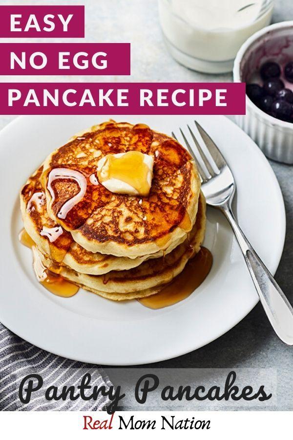 Easy No Egg Pancakes Pantry Pancakes Recipe No Egg Pancakes Easy No Egg Pancake Recipe Egg Pancake Recipe