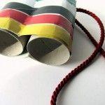 Lavoretti bambini: Minions fatti con tubi della carta igienica