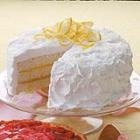Uh-oh.  This lemon 3 layered coconut cake may beat Paula Deen out for my Easter dinner dessert.