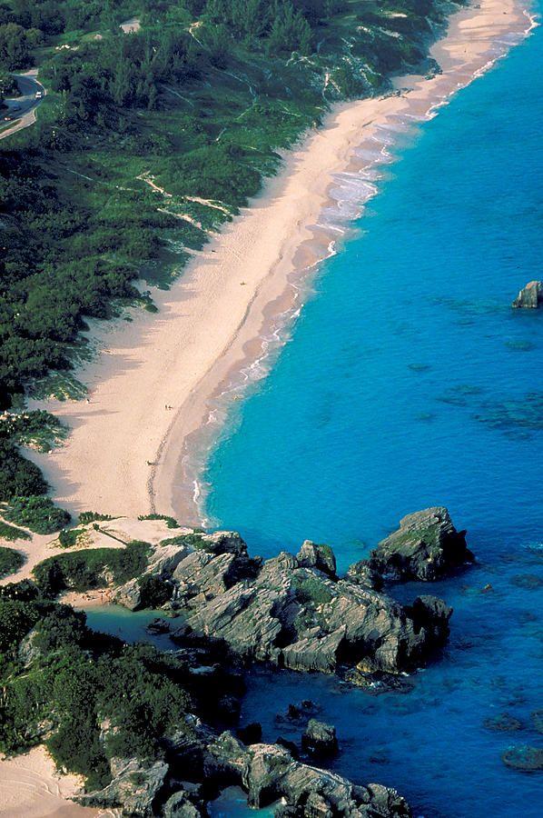 Horseshoe Bay On The Island Of Bermuda Atlantic Ocean