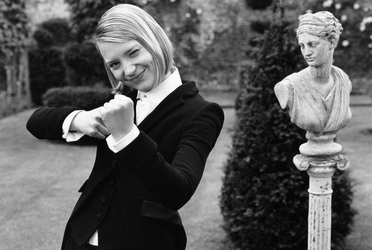 Миа Васиковска — Vogue UK 2012