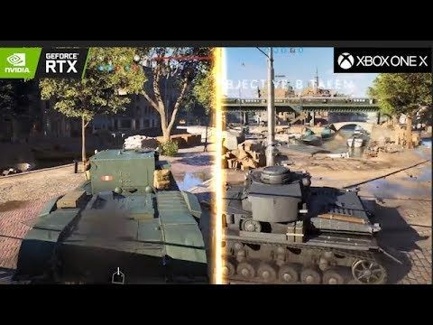Battlefield V Xbox One X vs RTX 2080 Ti ( Ray tracing ) Beta