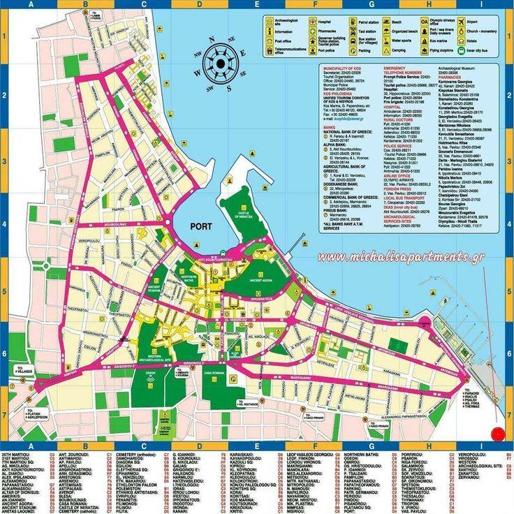 Kos thuishaven Rhodos Griekenland | Kos harbor Rhodes Greece | Sail in Greece Rhodes | sail-in-greece.net | http://www.zeil-in-griekenland.nl