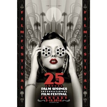 Palm Springs Film Festival 2014 Poster - Limited Edition