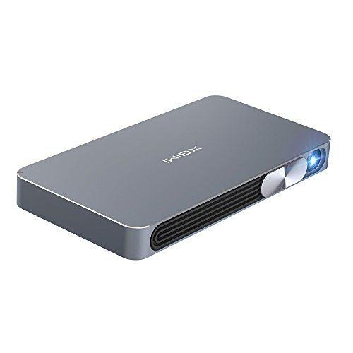XGIMI Ultra Slim and Portable Z4 Air 3D Multi-media Player and Smart Home Theater System 720P 3D Projector with 13600mAh Bulit-in Battery
