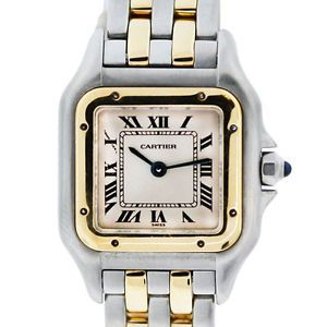 Cartier Watch. Panthere two tone. vintage.