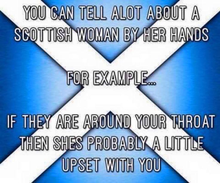 Scottish women...