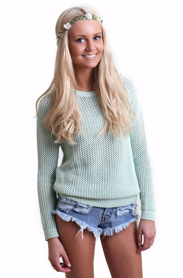 Second Female - Tine Knit Dust Green