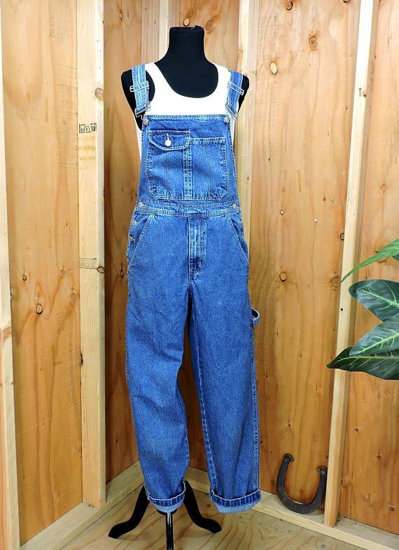 4eeebf5d14a Vintage Overalls S   Faded Glory bib overalls   boho grunge