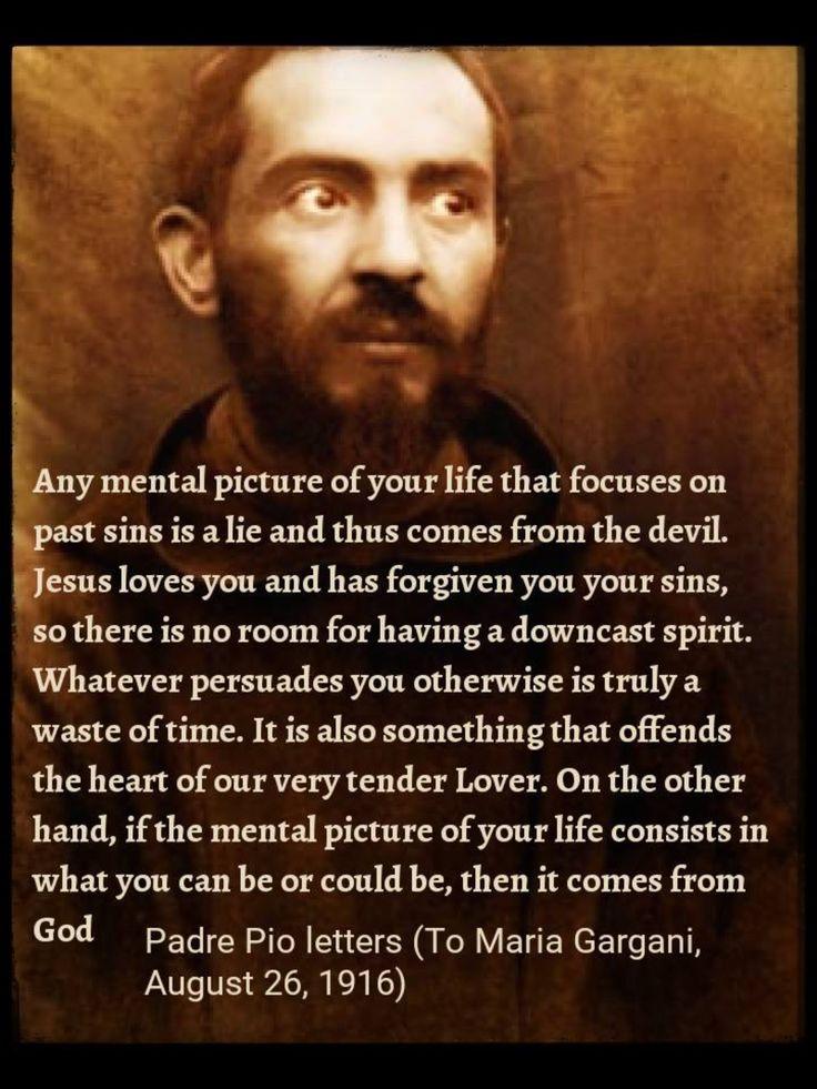 St. Padre Pio. Wow.