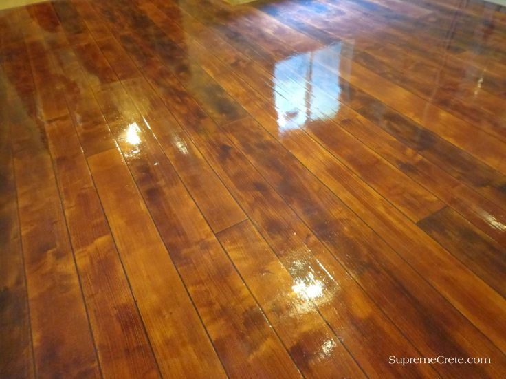 Elkhart Indiana Wood Concrete Floor Rustic Concrete Wood