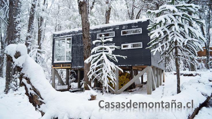 Refugio Derpsch. Ubicado a un par de kilómetros del centro de Ski Corralco, Malalcahuello- La Araucanía - Chile