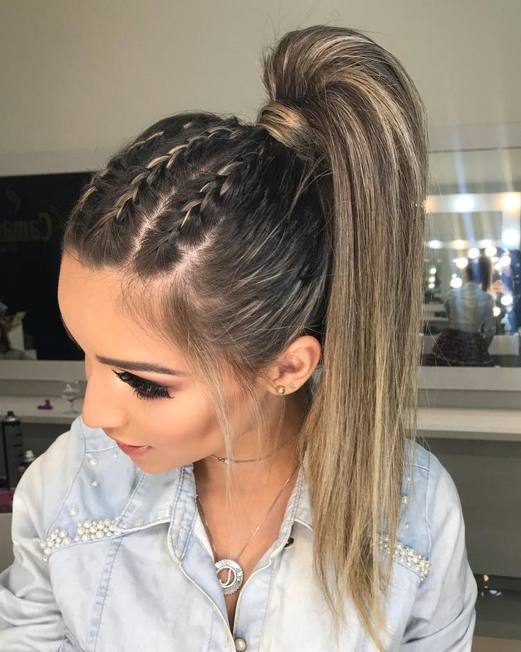Pin By Criis On Peinados In 2019 | Braided Hairstyles, Hair