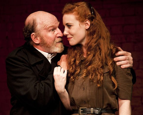 Leof Kingsford-Smith and Danielle Baynes in the SITCO-Old Fitzroy Theatre production of King Lear