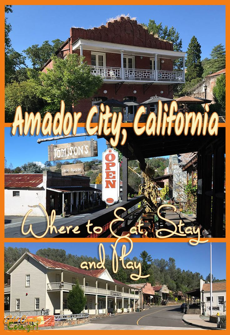 Although Amador City is the smallest incorporated city in California, covering less than a square mile, it has lots to offer. It has a hotel and four great places to eat. Main Street is also dotted with unique shops, a wine tasting room or two and a museum. Imperial Hotel | Jamison's Ale House | Small Town Wine Bar | Andrae's Bakery | Legendre Cellars | Sierra Foothills | Gold Country | Mother Lode #amadorcity #amadorcounty #sierrafoothills #goldcountry #motherlode
