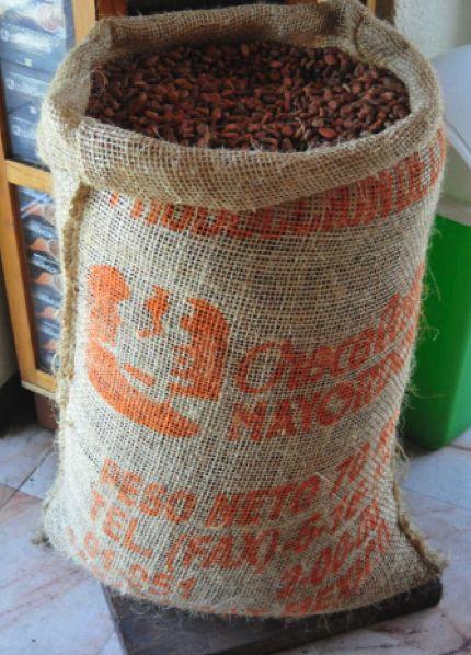 Cocoa beans before they get ground into Oaxacan chocolate. Via Mayordomo Chocolates in Oaxaca, Mexico. #JetsetterCurator