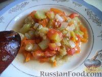 Фото к рецепту: Соте из овощей (в мультиварке)