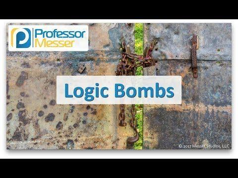Logic Bombs - CompTIA Security+ SY0-501 - 1.1 - YouTube