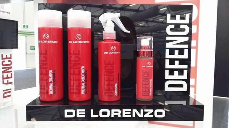 The girls at inroe have been following the Sydney Hair Expo news over the weekend and we are very excited to share:  'DEFENCE' - DeLorenzo's NEW PRODUCT RANGE   These amazing products team up to safeguard your hair from up to 88% of the breakage and damage caused by intense heat.The new 'Defence Thermal Protection System' includes:  ✺ Thermal shampoo ✺ Thermal conditioner ✺ Extinguish thermal defence heat spray ✺ Organic Argan Oil  We can't wait to try these beautiful products out!