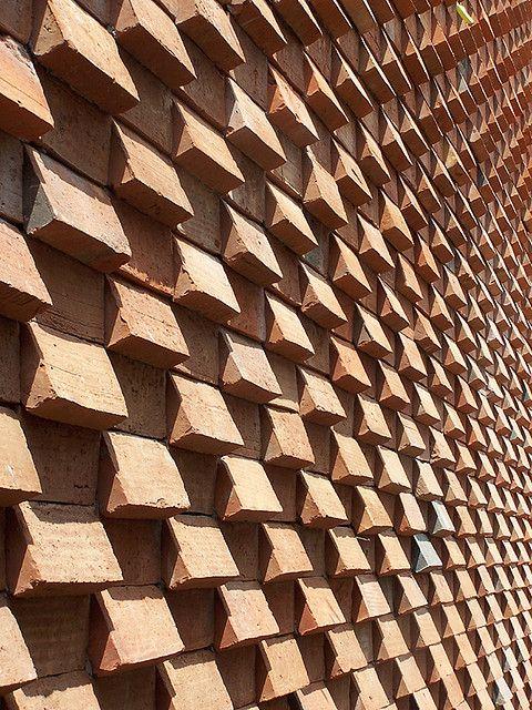 rungkut asri utara, surabaya 2008. brick composition 2a