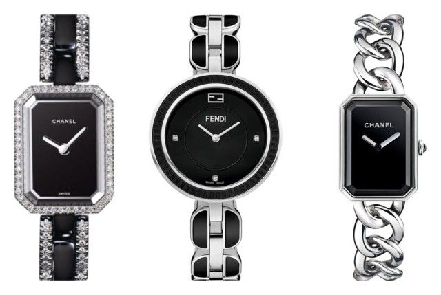 Timepiece CoFen by luxlamski on Polyvore featuring polyvore, fashion, style, Fendi and Chanel
