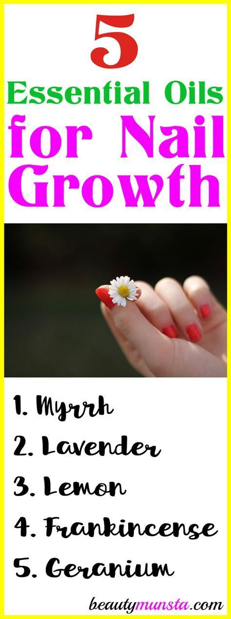 Check out the 5 essential oils for nail growth I've listed down below plus som…