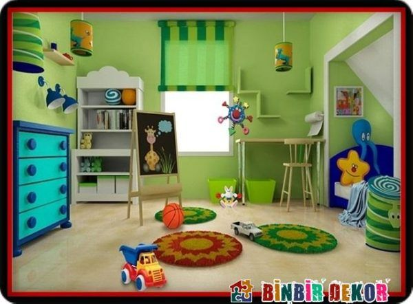 Cocuk Odalari Icin En Ideal Duvar Renkleri Dekor Yatak Odasi