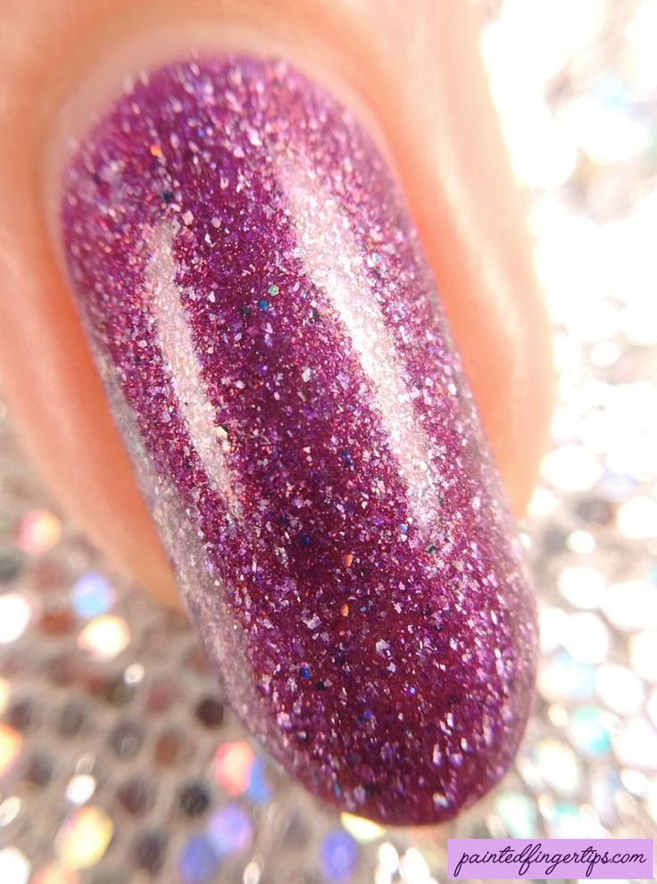 Painted Fingertips | Swatch - Polish 'M Uplift - Words of Encouragement collection - macro