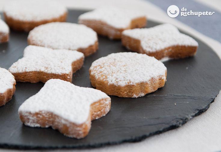 Quién prueba estas galletas tipo mantecada se vuelve adicto, asegurado. Crespells Mallorquines http://www.recetasderechupete.com/crespells-mallorquines-galletas-de-semana-santa/19041/ #SemanaSanta #Galletas