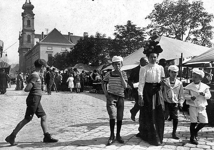 Batthyány tér (a volt Bomba tér) 1910
