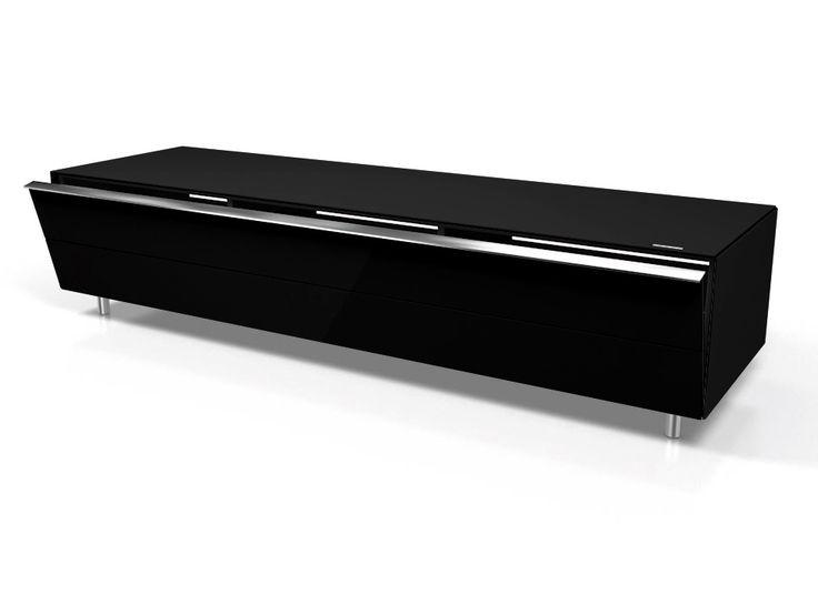 Image result for gloss black tv unit