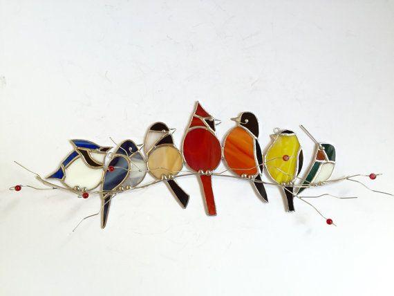 les 25 meilleures id es concernant oiseaux en vitraux sur. Black Bedroom Furniture Sets. Home Design Ideas
