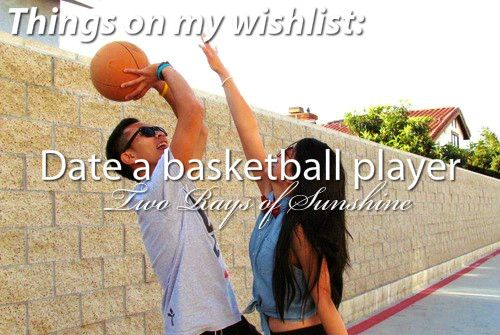 dating basketball players Take a look at 10 reasons to date a female basketball player and then decide if this is a type of girlfriend you would like to have on your arm as you are reading this list you should also decide if you are the type of person who could handle the idea of dating.