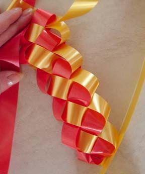 HOMECOMING!  I needed this a couple of weeks ago when going to Hobby Lobby and paying 6 or 7 dollars for just ONE of these military braided ribbons!