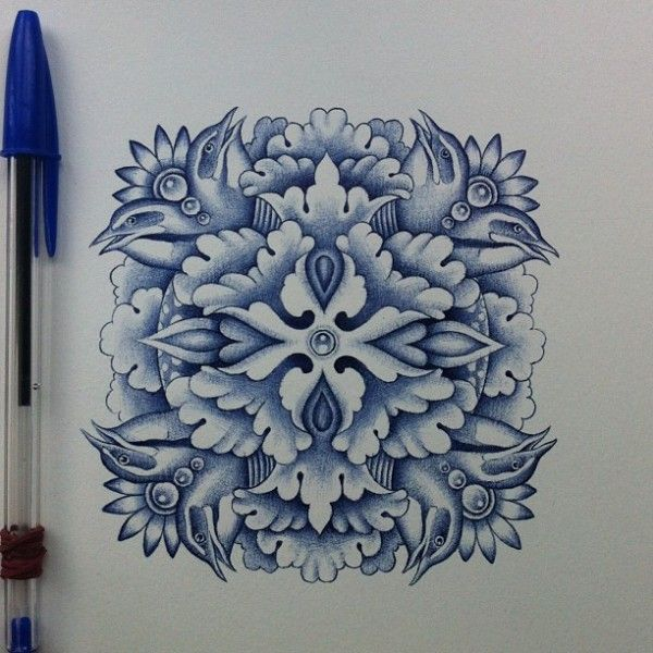 Incredibly Illustrated Drawings Using Only A Bic Pen