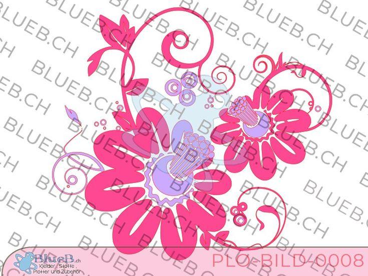 Plotterbild Flowers
