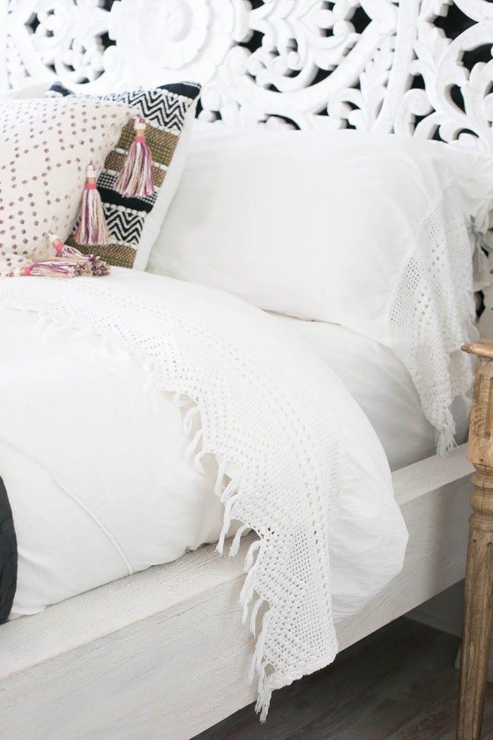 Inside the Bohemian Bedroom of Audrina Patridge via @MyDomaine