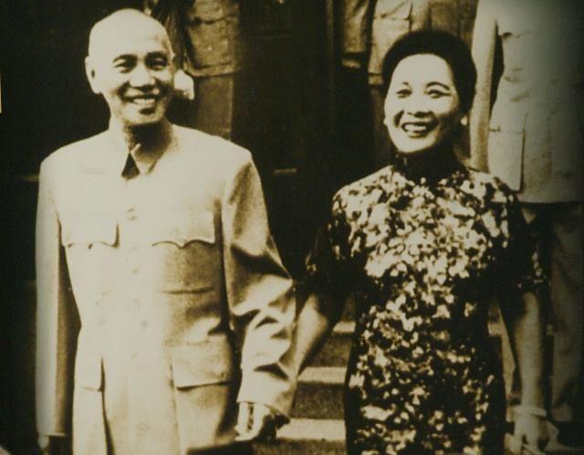 1937: Chiang Kai-shek et Soong May-ling, président et première dame de la République de Chine