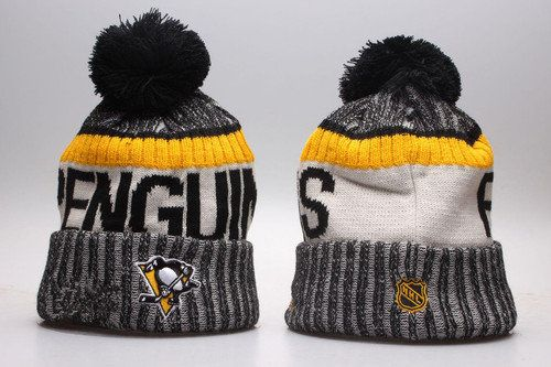 4ab67bf0 Pittsburgh Penguins Winter Outdoor Sports Warm Knit Beanie Hat Pom Pom
