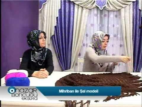 Nazar Boncuğu - Şal Modeli