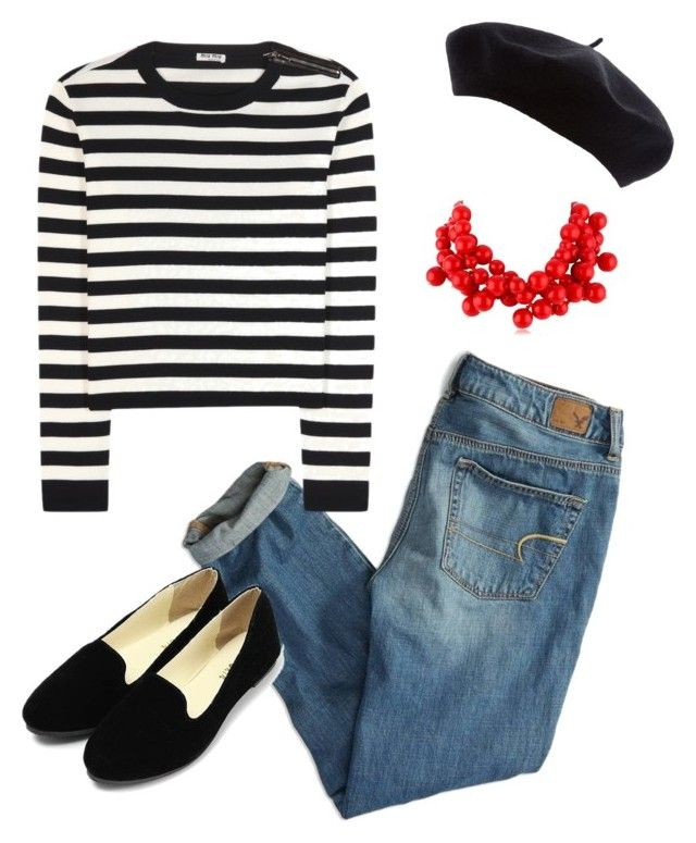 Set 6 by melam0ry on Polyvore featuring Miu Miu, American Eagle Outfitters, Kenneth Jay Lane, women's clothing, women's fashion, women, female, woman, misses and juniors, gamine, гамин