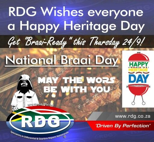 Hope you all had an Awesome Heritage day and some of you - long weekend.  Hope you are all rested out for a Great New Week!