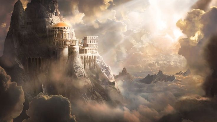 Image result for mount olympus greek mythology