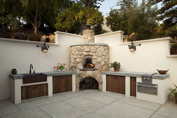 Smart Ideas for Outdoor Kitchens and Dining. Get inspired to create a top-of-the-line open-air cooking center and al fresco dining spaces without breaking the ...