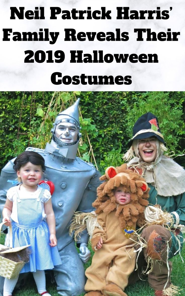 Neil Patrick Harris' Family Reveals Their 2019 Halloween