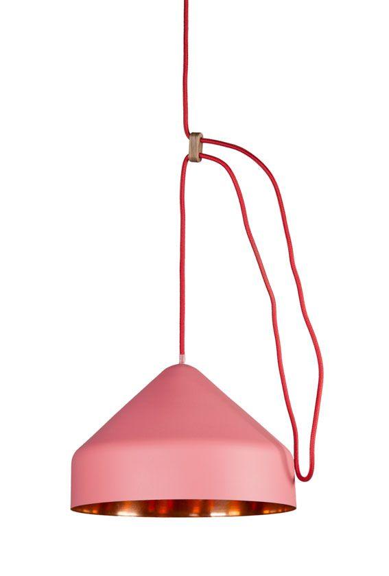 Llus lamp roze/koper - Ontwerplabel Vij5 - BijzonderMOOI* - Dutch design